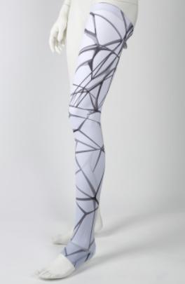 Diapo 6 : Habillage pour prothèse de jambe.