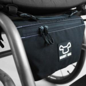 Sacoche pour fauteuil roulant (arrière).