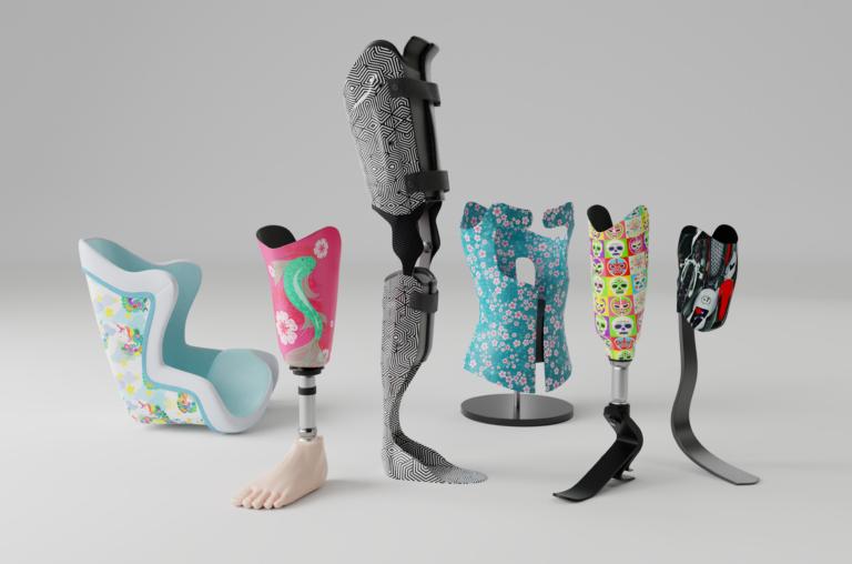 Diapo 3 : Prothèses et habillages de prothèses U-Exist.