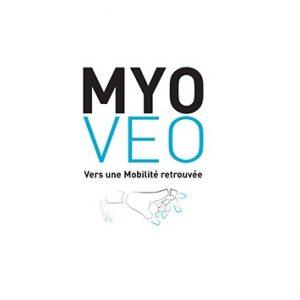 Logo du projet Myo Veo.