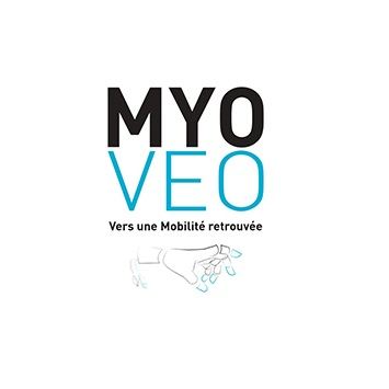Diapo 2 : Logo du projet Myo Veo.