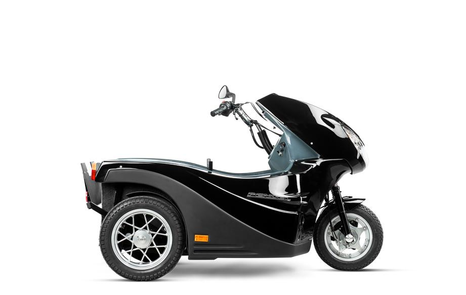 Diapo 1 : Pendel Mobility Scooter, vu de coté.