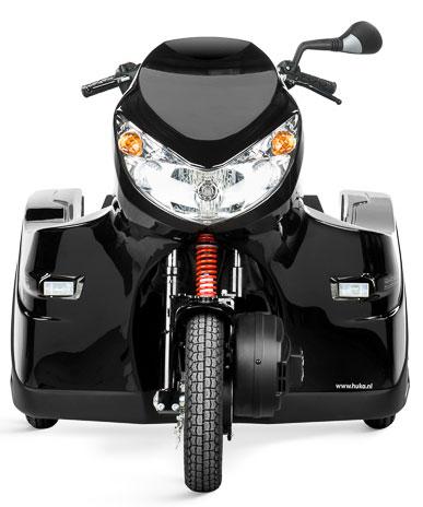 Diapo 2 : Pendel Mobility Scooter, vu de face.