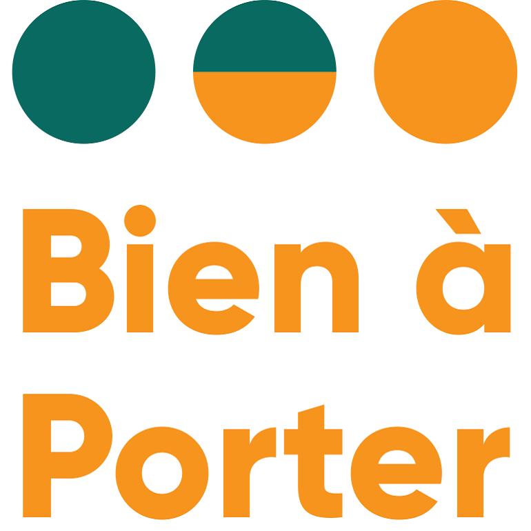 Diapo 4 : Logo du label 'Bien à porter'.