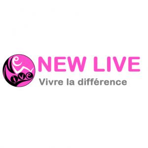 Fauteuil roulant Magix par New Live, dans ses cinq coloris disponibles (rose, gris, bleu, blanc et rouge)
