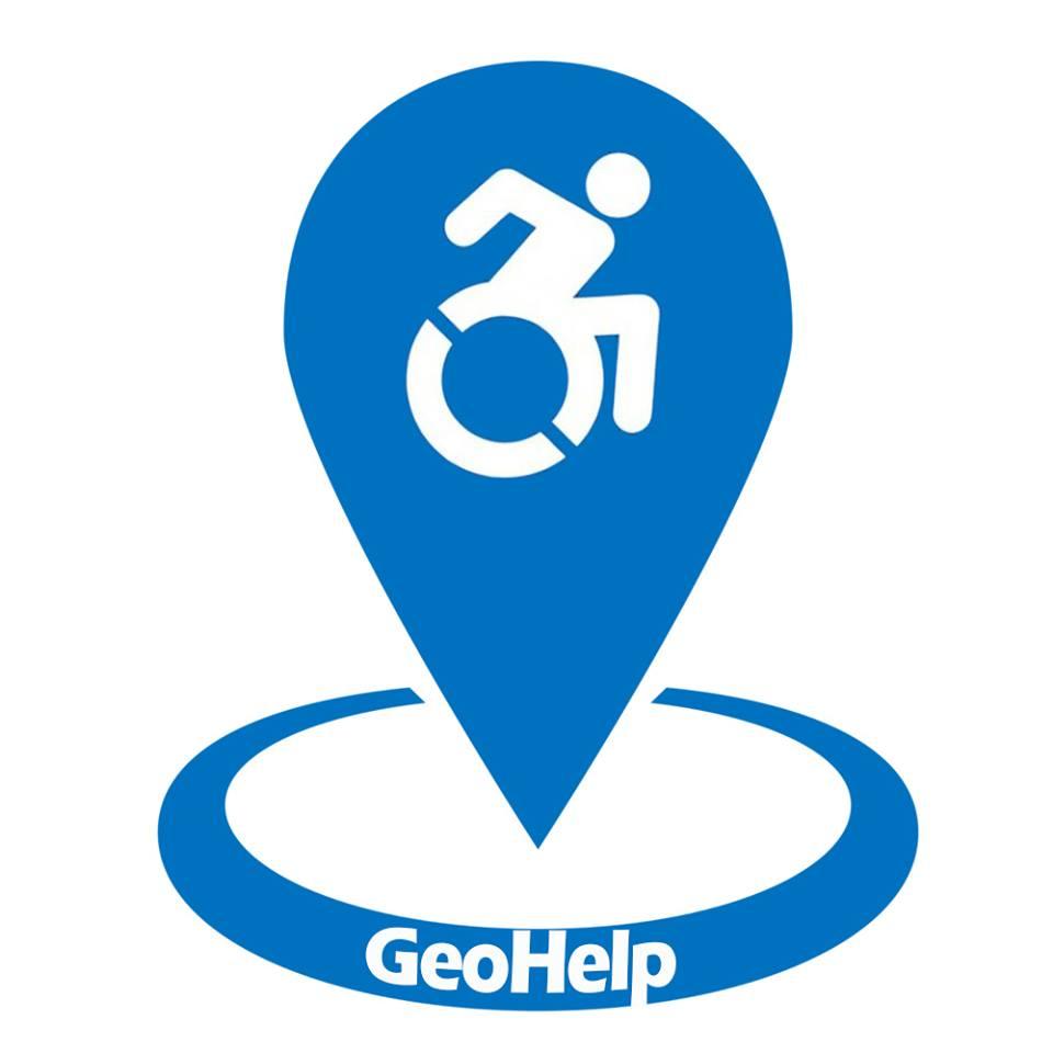 Diapo 2 : Logo du projet GeoHelp.