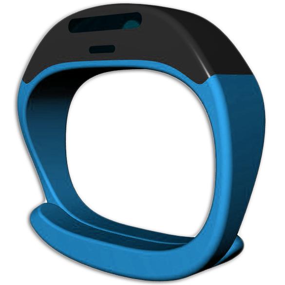 Diapo 2 : Bracelet Cicret bleu.