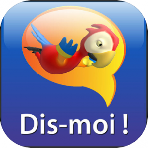 Logo de l'application Dis-moi!