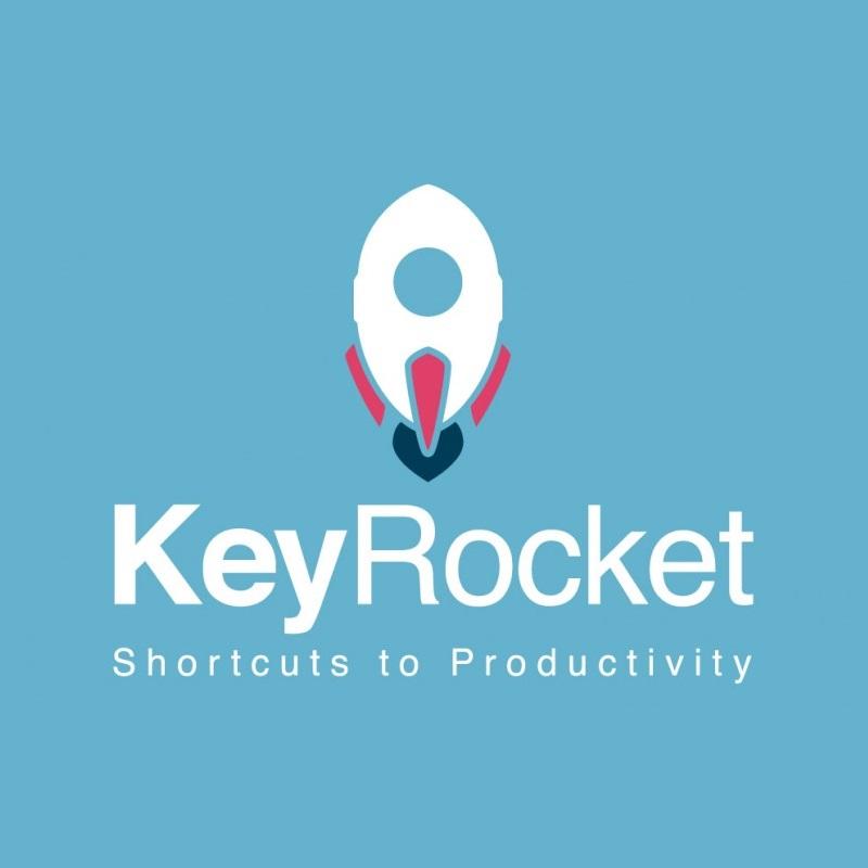 Diapo 2 : Logo de KeyRocket.