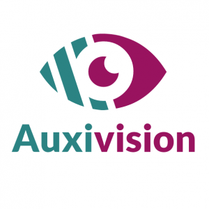 Logo de l'application Auxivision
