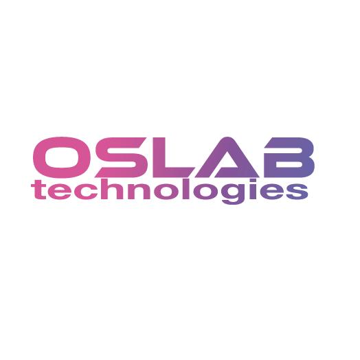 Diapo 1 : Logo du projet Oslab Technologies.