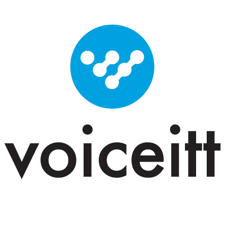 Diapo 5 : Logo de l'application Voiceitt.