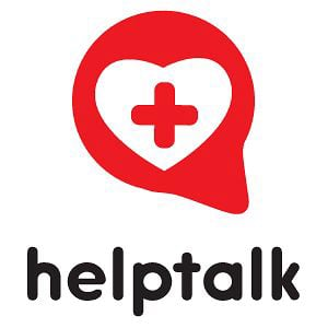 Logo de l'application HelpTalk.
