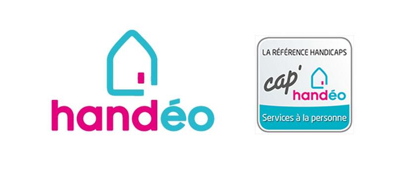 Diapo 2 : Logo de l'application handéo