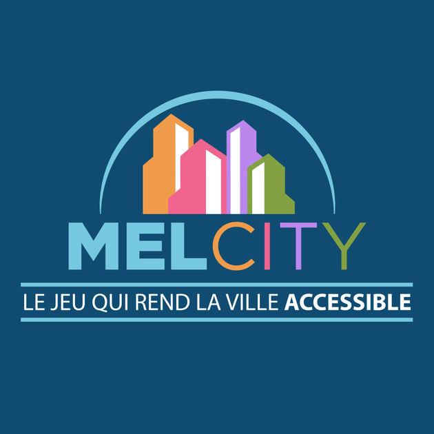 Diapo 2 : Logo de l'application Mel City.