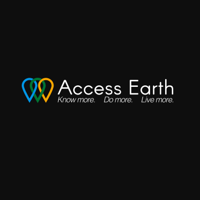 Diapo 4 : Logo du site Acces Earth