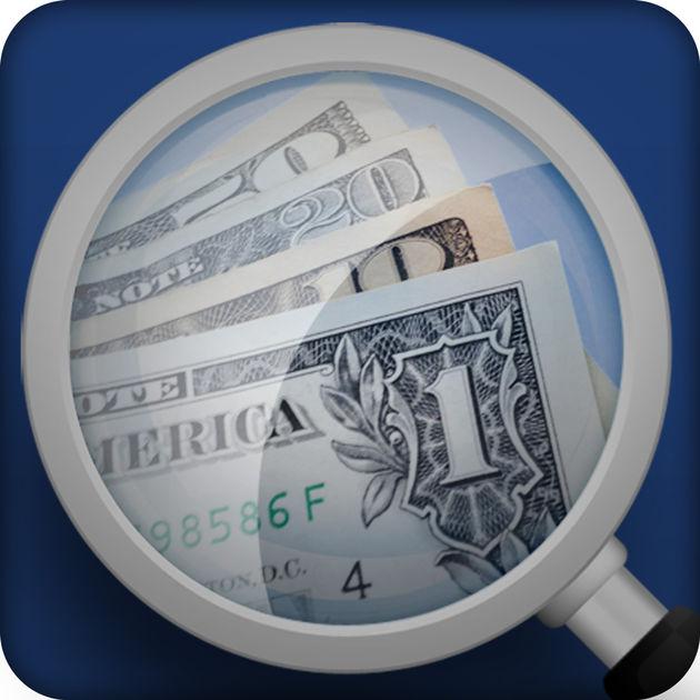Diapo 2 : Logo de l'application Money Reader
