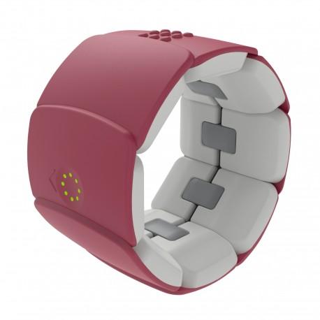 Diapo 5 : Bracelet Unitact mauve.