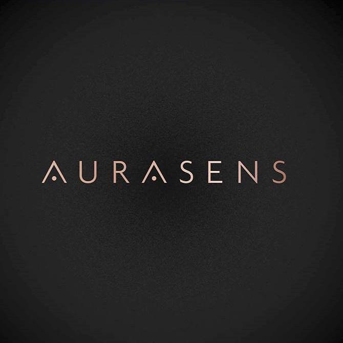 Diapo 4 : Logo de l'entreprise Aurasens.