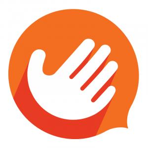 Logo de l'application Handtalk.
