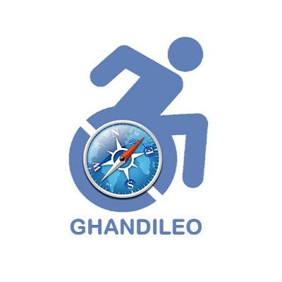 Diapo 2 : Logo du projet Ghandileo.