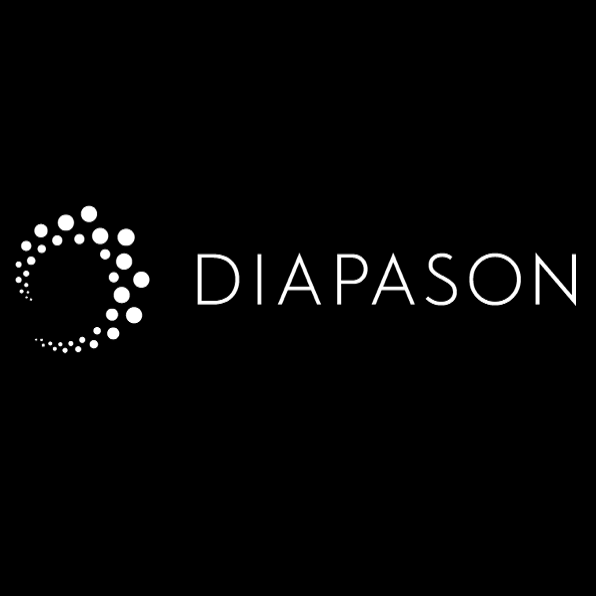 Diapo 2 : Logo de l'application Diapason