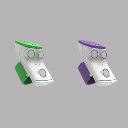 Diapo 4 : Deux appareils Rango, l'un vert l'autre violet.