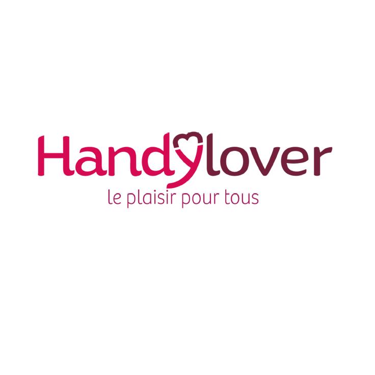 Diapo 5 : Logo de Handylover, légende ' Le plaisir pour tous'