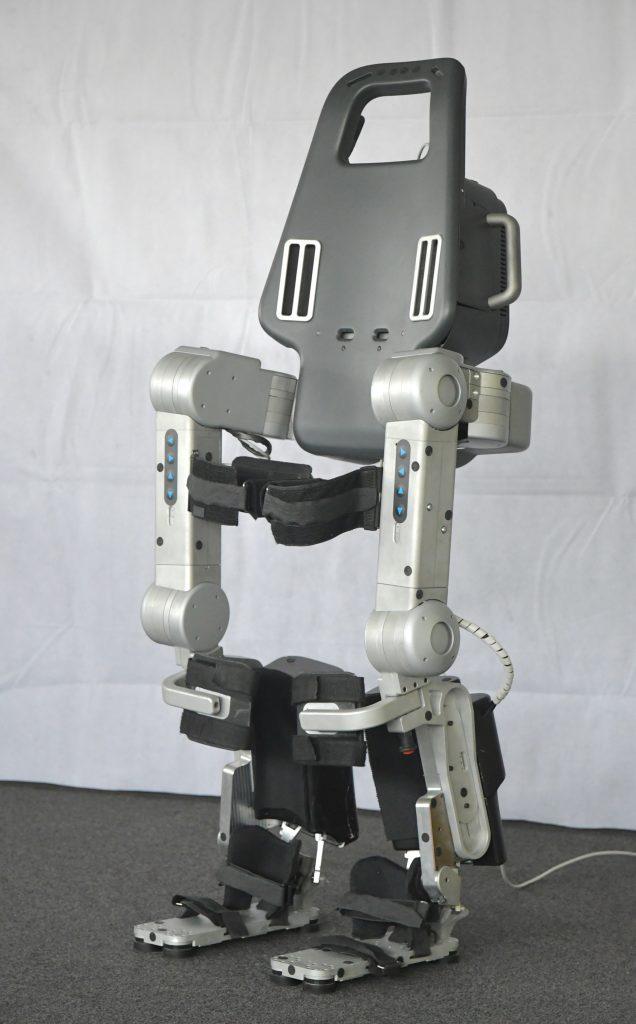 Diapo 3 : Exosquelette Wandercraft, de face.