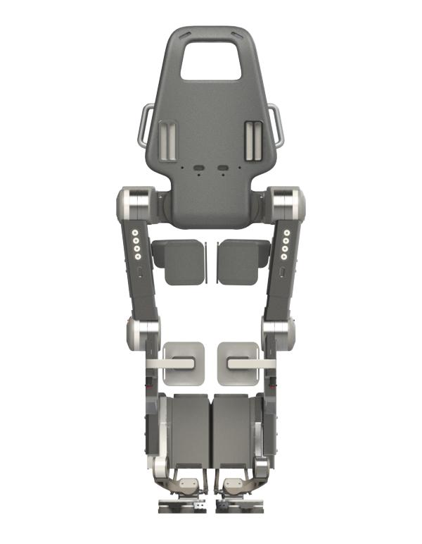 Diapo 6 : Exosquelette Wandercraft, de dos.