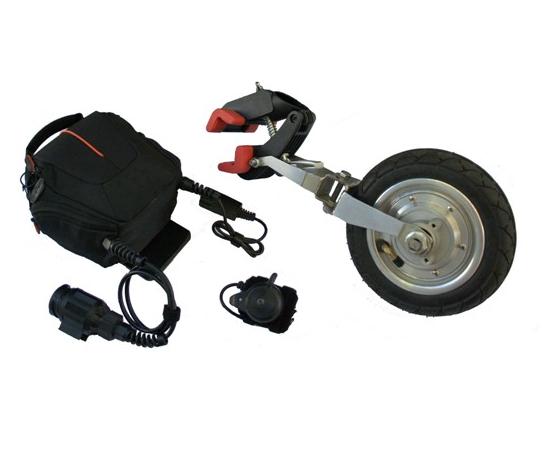 Diapo 2 : Dispositif ForceWheel (Roue + Batterie).