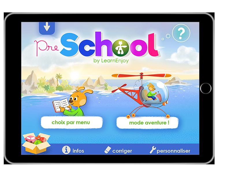 Diapo 3 : Accueil PreSchool