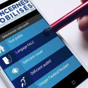 L'application Audiospot sur un smartphone
