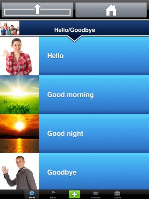 Diapo 3 : Image de l'application TalkRocketGo