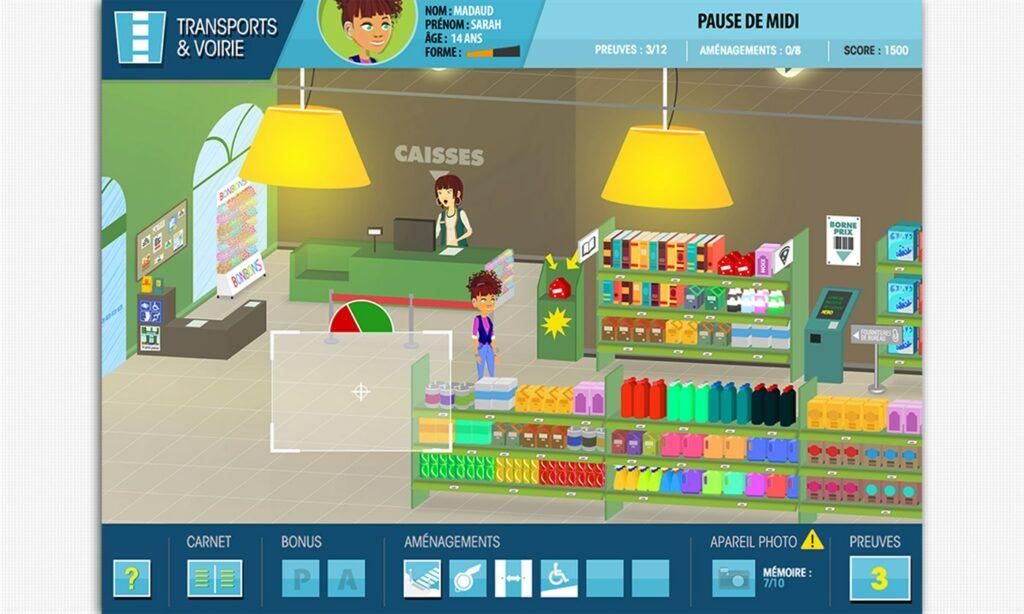 Diapo 4 : Image du jeu Mel City