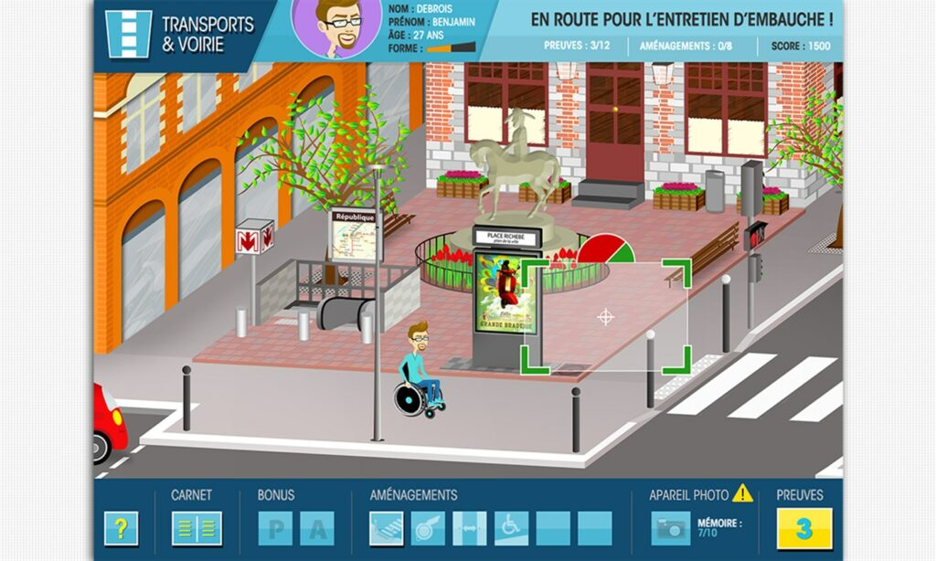 Diapo 5 : Image du jeu Mel City