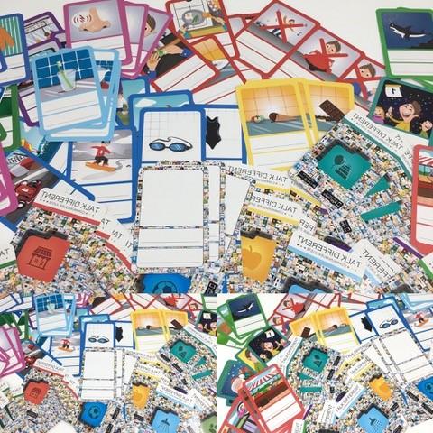 Diapo 6 : cartes de jeux éducatifs talk different