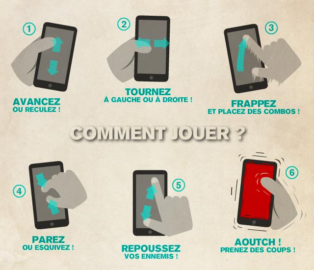 Diapo 4 : Notice d'utilisation du jeu avec son smartphone