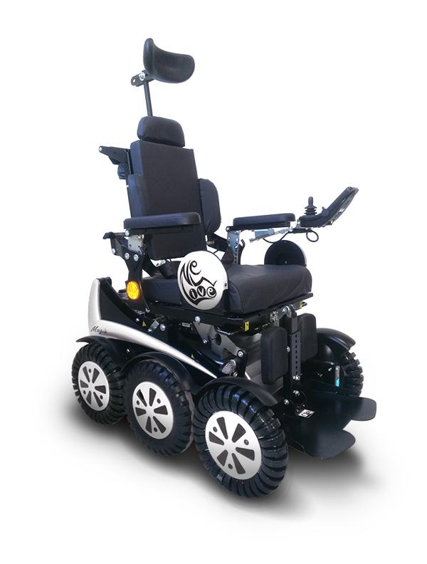 Diapo 4 : Image du fauteuil Magix de New Live vu de côté