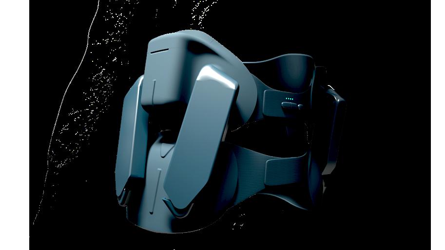 Diapo 2 : Image de l'exosquelette Japet