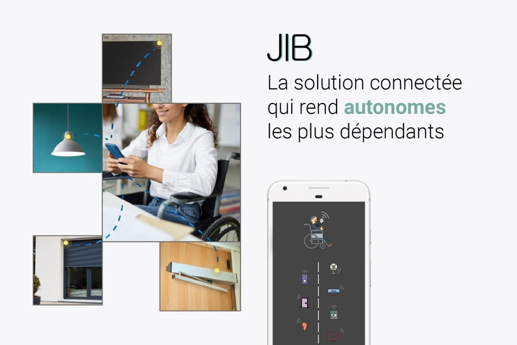 Diapo 2 : jib smart home la solution connectée qui rend autonome le splus dépendants