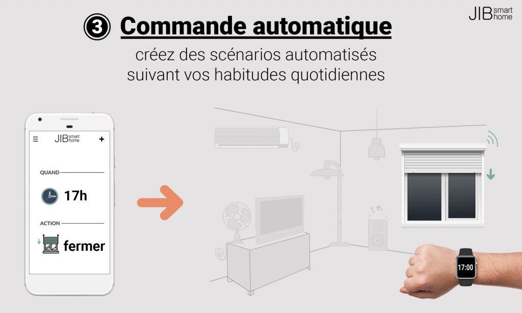 Diapo 7 : photo représentant la commande automatique
