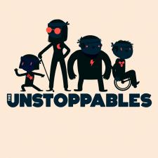 photo représentant les 4 personnages du jeu the unstoppables