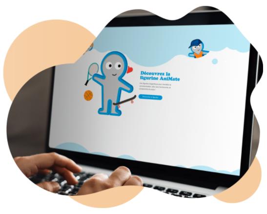 Diapo 5 : AniMate sur un ordinateur