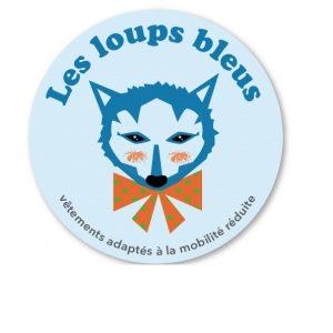 logo les loups bleus