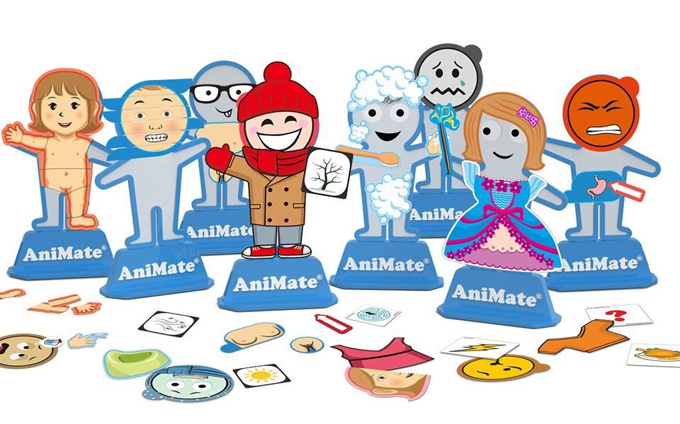 Diapo 3 : photo qui représente plusieurs figurines AniMate