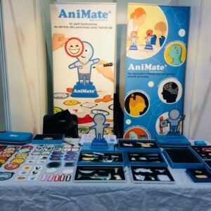 Stand avec des figurines AniMate