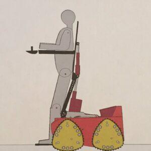 Dessin du fauteuil roulant Phoenix