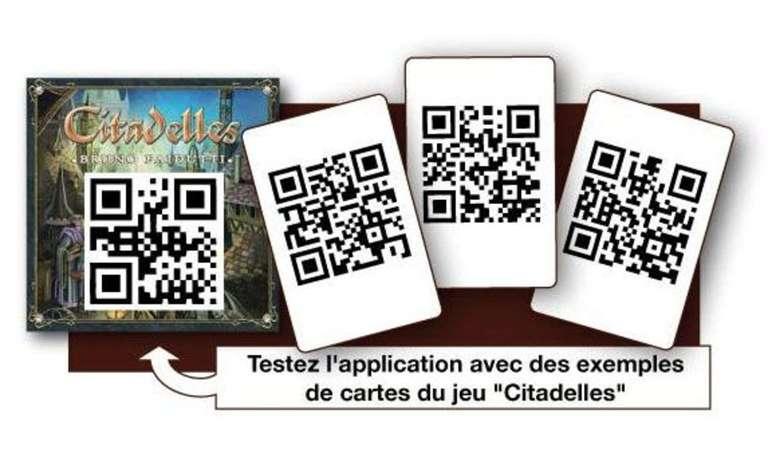 Diapo 2 : QR Code d'accessijeux sur un jeu de société