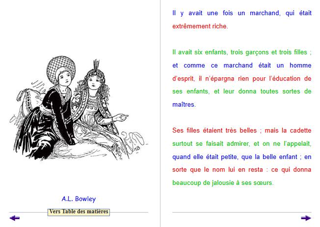 Diapo 3 : Image d'un exercice de la plateforme 'Cartable fantastique' qui représente un texte avec différentes couleurs pour aider à la lecture